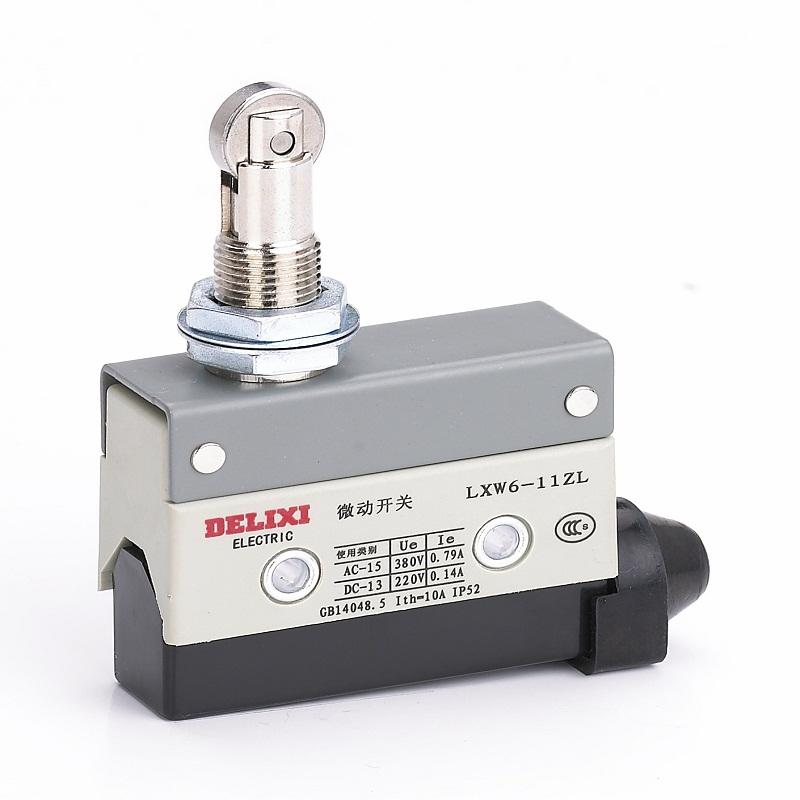 限位保护和切换电路元件使用等
