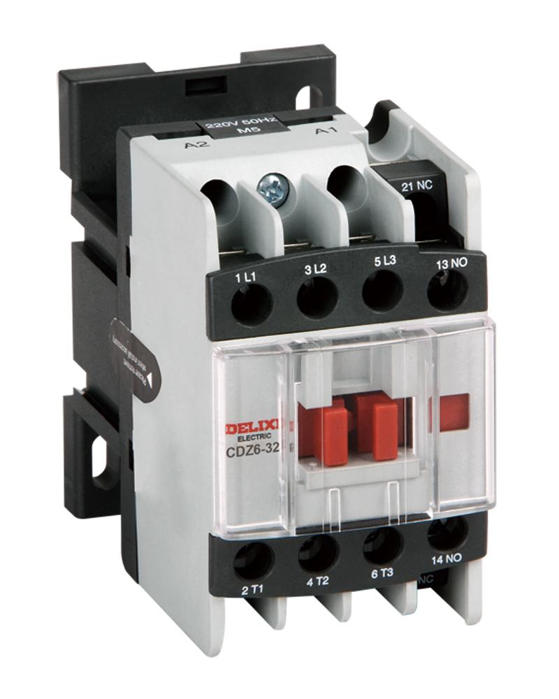 电动机控制与保护 接触器式继电器