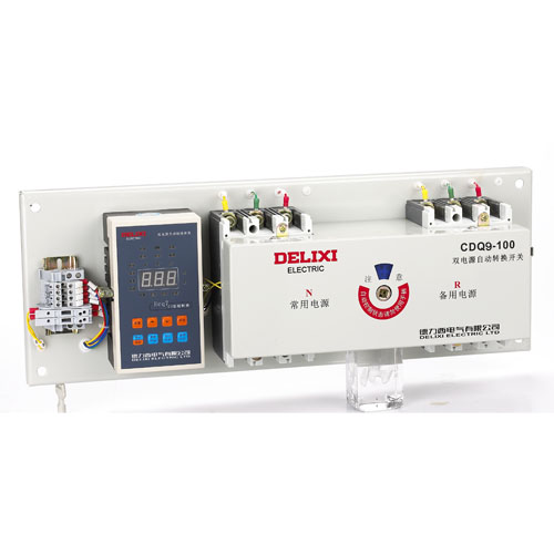 cdq9&cdq9e 双电源自动转换开关