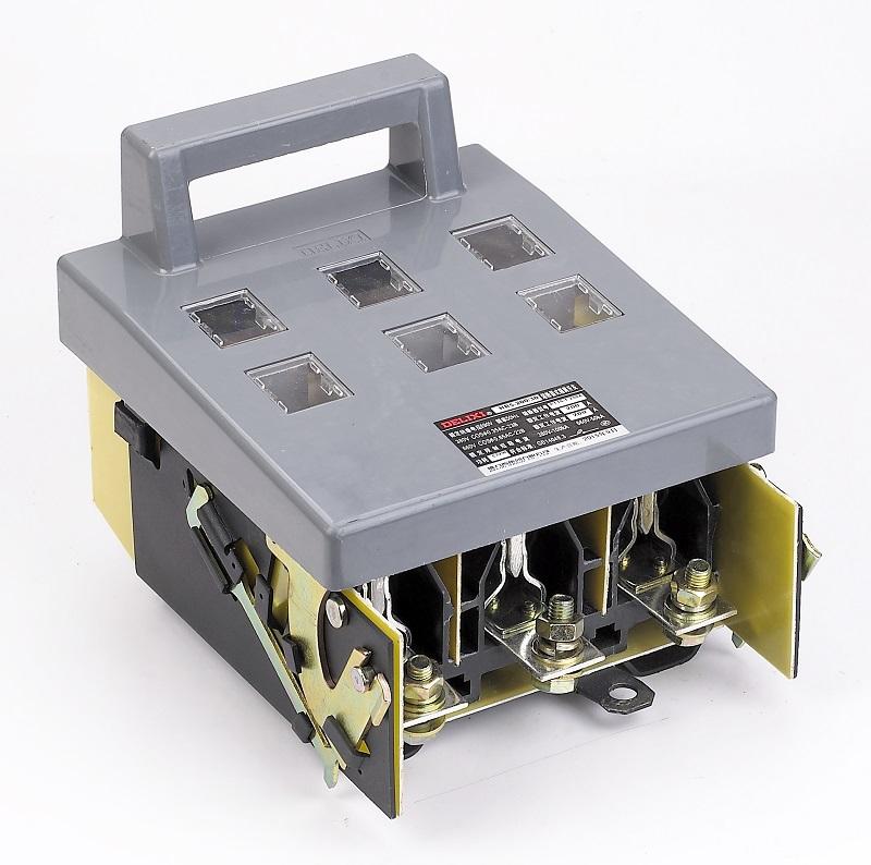 熔断器 > hr5 系列熔断器式隔离开关   产品描述 适用于配电电路中和